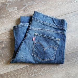 Levi's blue jeans stretch waist 12